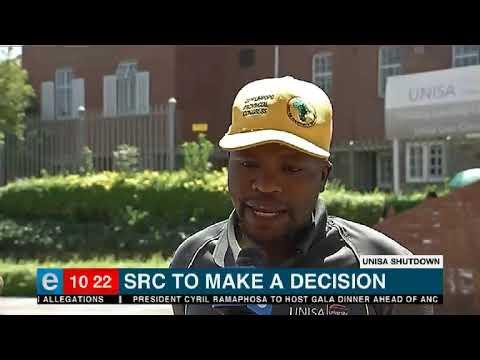 SRC to make decision at Unisa