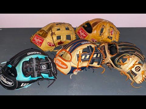 My Top 5 Baseball Gloves! *2020*