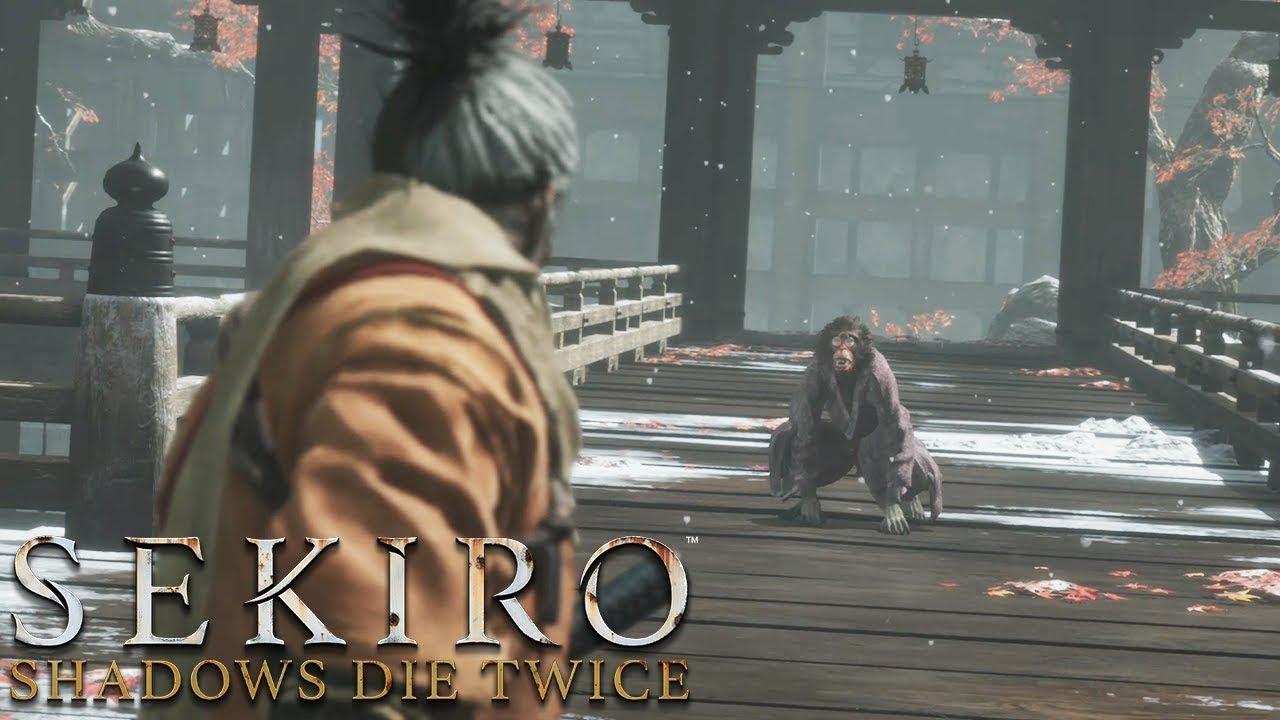 Sekiro Shadows Die Twice Panel Monkeys Boss Fight
