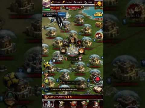 KINGDOM VS KINGDOM: WHEN YOU FORGET ABOUT SKILL(MUST WATCH) (CLASH OF KINGS)