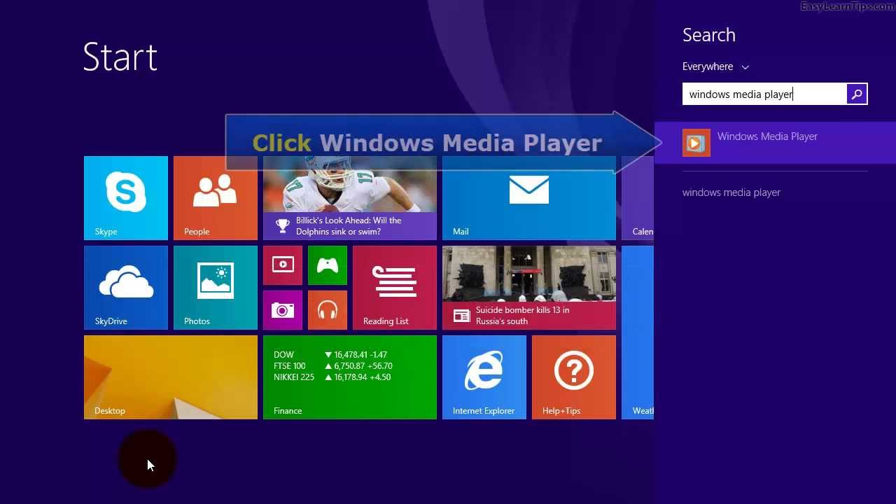 Flv media player for windows 8 free download.