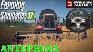 FARMING SIMULATOR 17 #4 - LAVORIAMO USANDO IL VOLANTE - FS 2017 GAMEPLAY ITA
