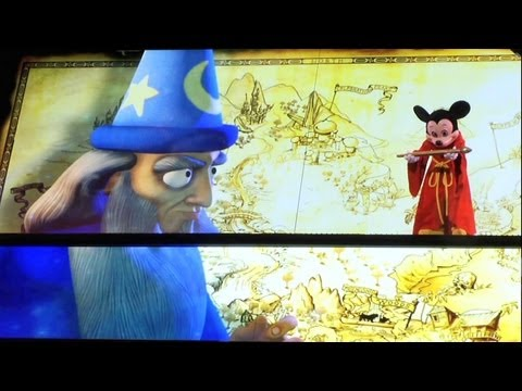 """Full """"Mickey and the Magical Map"""" show at Disneyland - Debut performance"""
