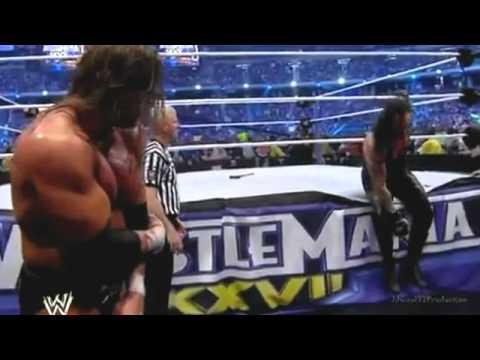 Wrestlemania 27 highlights