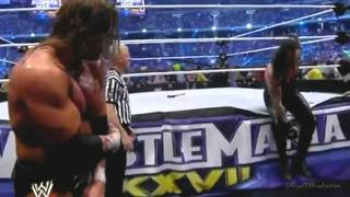 Wrestlemania 27 highlights