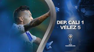 Deportivo Cali vs. Vélez Sarsfield [1-5] | RESUMEN | Octavos de Final | CONMEBOL Sudamericana