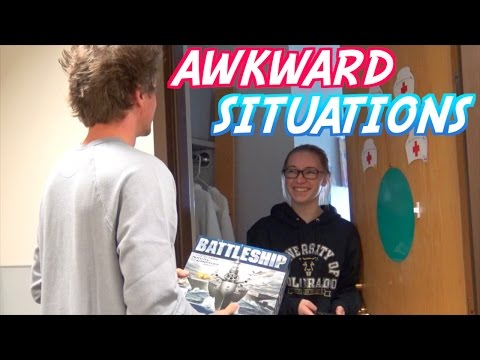 AWKWARD DORM SITUATIONS!