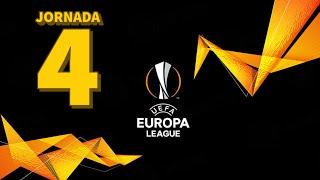 UEFA EUROPA LEAGUE 2020-2021   JORNADA 4   RESUMEN