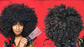 How to Pick Your NATURAL Hair **(NOT A WIG)** | alexuscrown