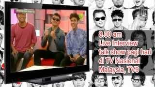 Nidji PROMO TOUR TO MALAYSIA Day 2