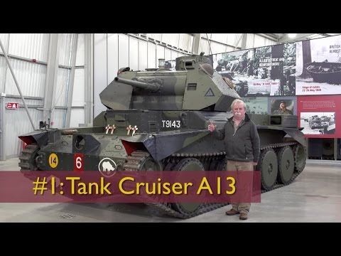 David Fletcher's Tank Chats #1: The A13 Cruiser | The Tank Museum