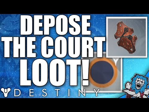 Destiny: How To Get 300 Defence Artifact - Depose The Court Quest Loot  / Tier 3 Court Of Oryx
