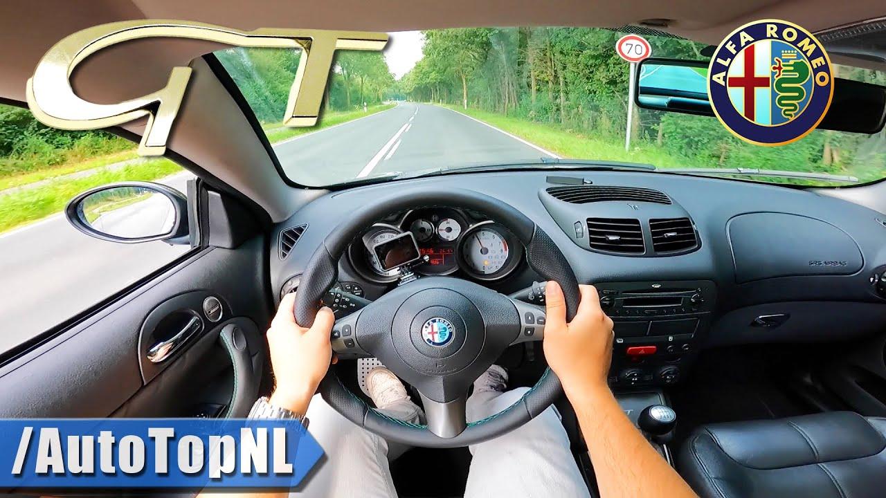 ALFA ROMEO GT 3.2 V6 | Ragazzon EXHAUST | POV Test Drive by AutoTopNL