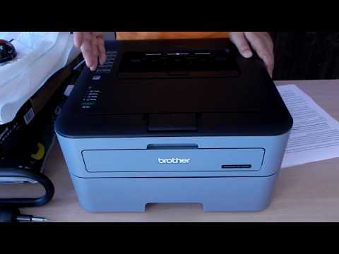 Brother HL - L2321D Unboxing and Review