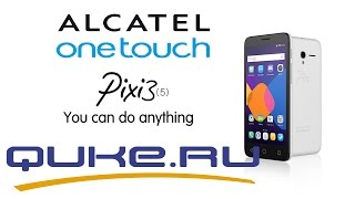 Обзор Alcatel PIXI 3 5 5065D Quke Ru