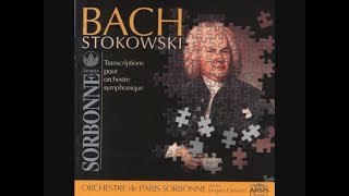 Bach 'Arioso' - Stokowski orchestration from Paris - Jacques Grimbert conducts