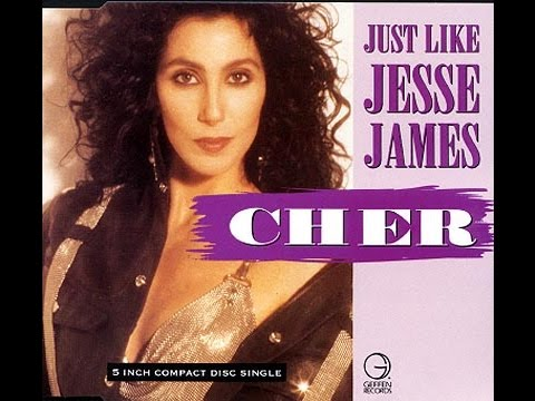 Just like jesse james by Cher [Lyric Video]