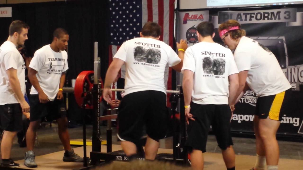 Strongman Bench Press Part - 43: LS McClain 501 Lbs Bench Press At 93 Kgs BW