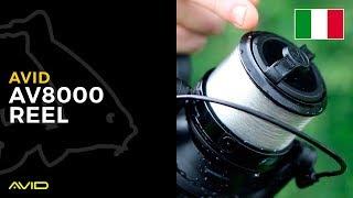 AVID CARP- AV8000 Reel- Italian