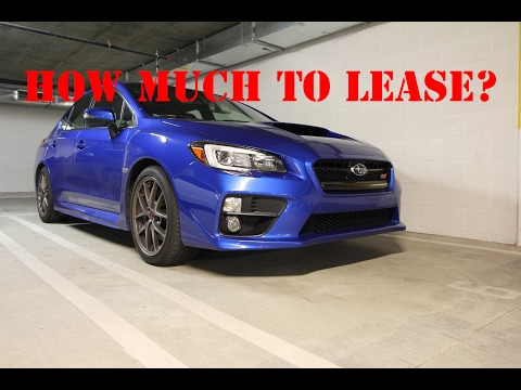 HOW MUCH TO LEASE A NEW SUBARU WRX STI?