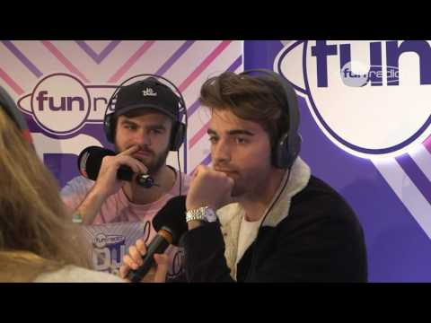 The Chainsmokers en interview à Amsterdam