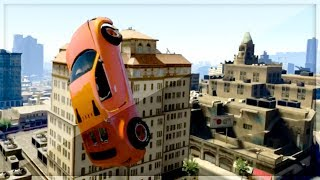 GTA 5 Funny Moments - HIT A STUNT - Episode 19 - (GTA V Online Stunts)
