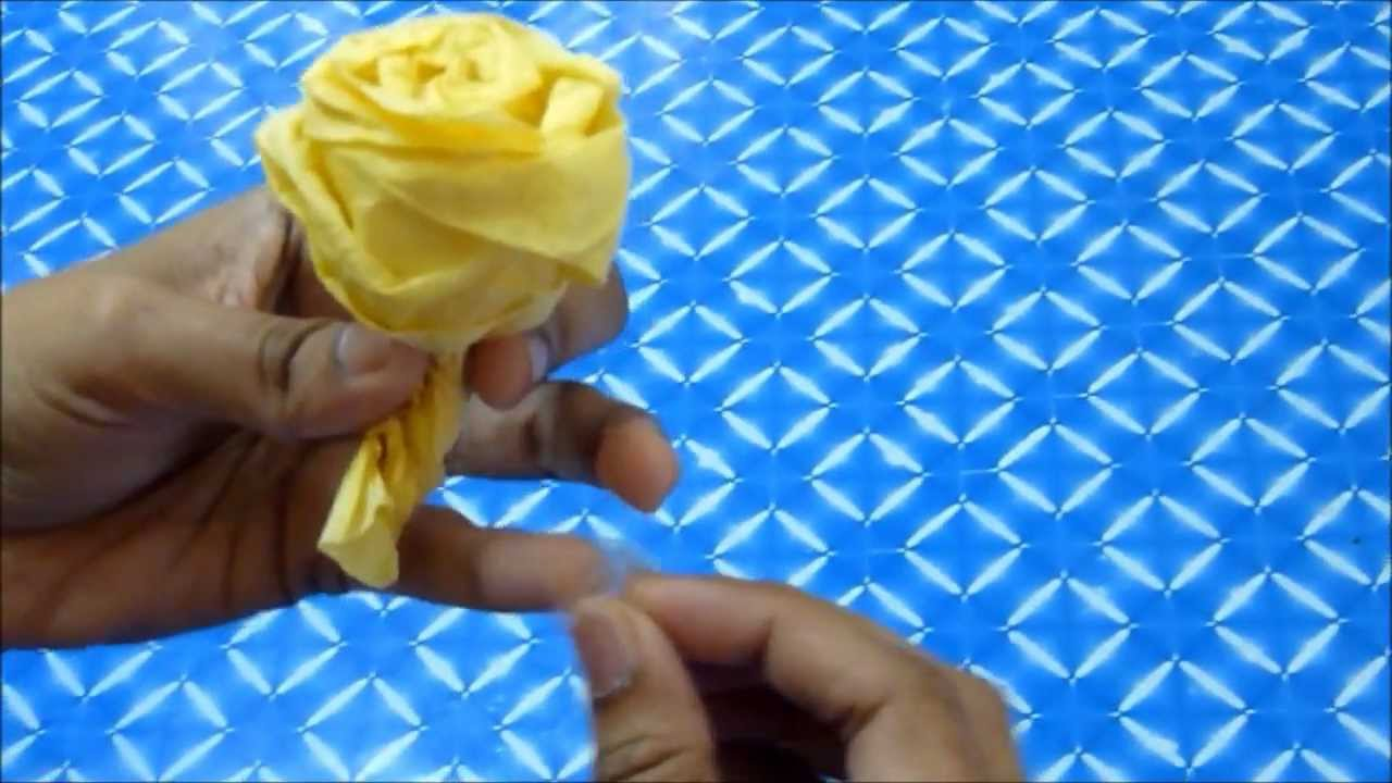 how to make a tissue paper rose Create rose petals that won't wilt (image: brand x pictures/brand x pictures/getty images) tissue paper rose petals are an alternative to real petals, and won't get brown at the edges or go bad the paper petals can be used to decorate the aisle at a wedding ceremony, add beauty to table.