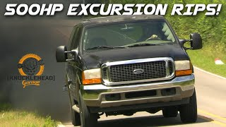 500 HP 7.3 Powerstroke Excursion Build - Project Towverlander Part 2 | Knucklehead Garage