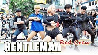 레드크루 (RED Crew) - GENTLEMAN (PSY) @ 180707 홍대 거리공연 직캠 By SSoLEE