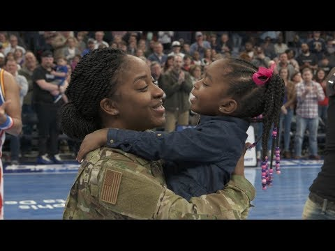 Harlem Globetrotters Plan A Military Family Reunion Surprise!