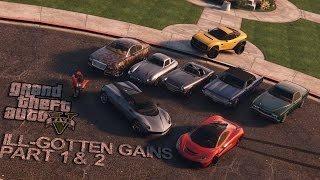 Grand Theft Auto V   Ill-Gotten Gains Part 1& 2 Land vehicle Trailer [Fanmade]