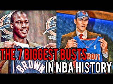 The 7 Biggest Busts in NBA History