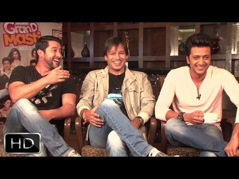 'Excited' Aftab, 'Opportunist' Vivek, 'Deep Daddu' Riteish's Exclusive Interview On 'Grand Masti' Travel Video