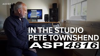Pete Townshend in the Studio with Audient