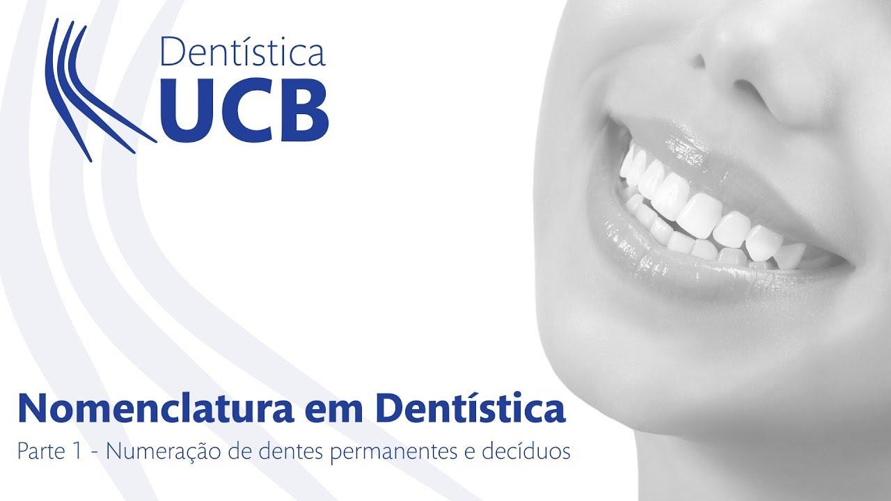 Favoritos Nomenclatura em Dentística - Parte 01: Numeração dos dentes  DX85