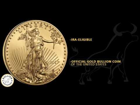 2017  American Eagle 1 oz Gold Coin BU