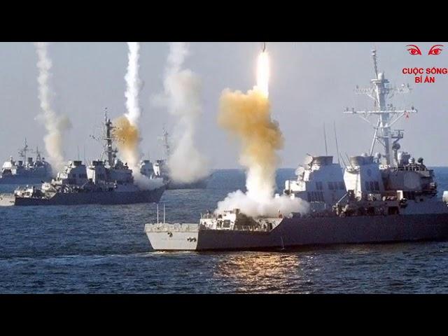 Tướng TQ thách_thức Mỹ khiến Mỹ nổi_giận đưa hàng loạt tàu_chiến ra Biển Đông