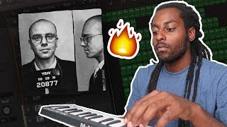 MAKING A BEAT FOR LOGIC - YOUNG SINATRA 4 (Young Sinatra IV / YSIV)   Logic Pro X Tutorial