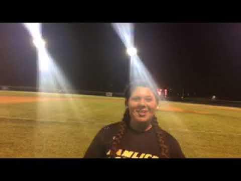 New Bern Sun Journal Female Athlete of the Week - Pamlico County's Jenna Bustamante
