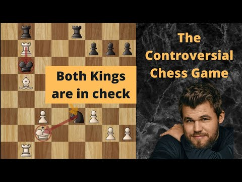 The Controversial Chess Game : Magnus Carlsen vs Ernesto Inarkiev | Both Kings are in Check