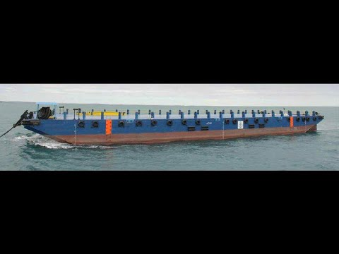230ft Deck Cargo Ballast Tank Barge