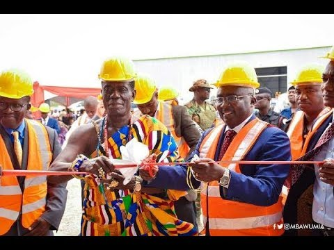 First-ever concrete Sleeper Plant in West Africa inaugurated in Ghana