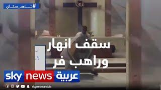ماذا فعل انفجار بيروت في كنيسة