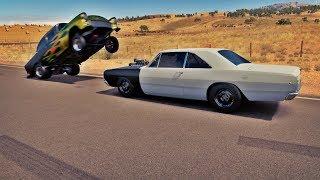 Forza Horizon 3 Online - Dodge Dart V8 6.2 DSC VS Chevrolet Bel Air - Hoonigan Car Pack