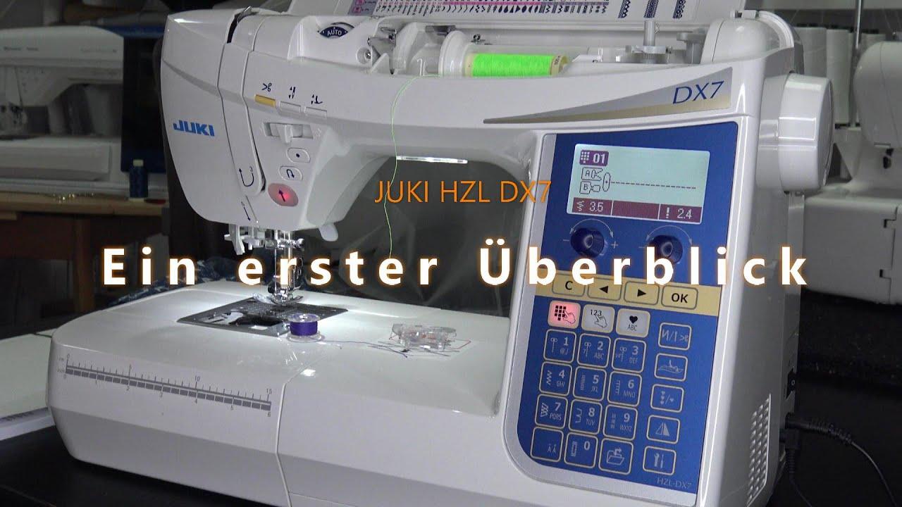 Download Juki HZL DX7 Ein erster Überblick