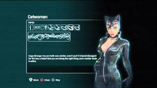 Batman arkham city Catwoman Tapes