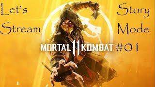 Let's Stream Mortal Kombat 11 Story Mode – Round 1: FIGHT!