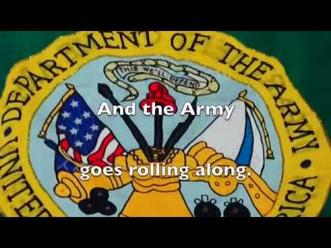 The Official Song of the United States Army Karaoke