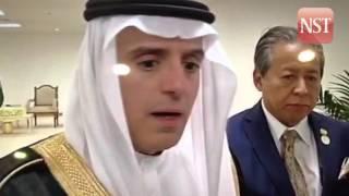 Saudi's Foreign Minister admits donation to Najib came from Saudi Arabia