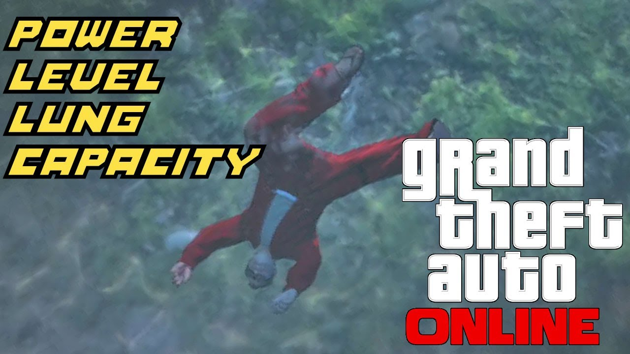 GTA 5 Online: How to Power Level Lung Capacity - YouTube